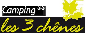 Logo Camping les 3 chênes